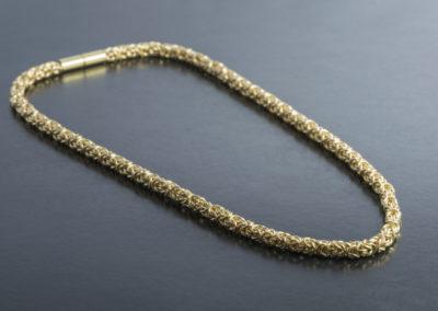 Königskette: Gelbgold