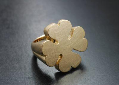 Ring: Gelbgold